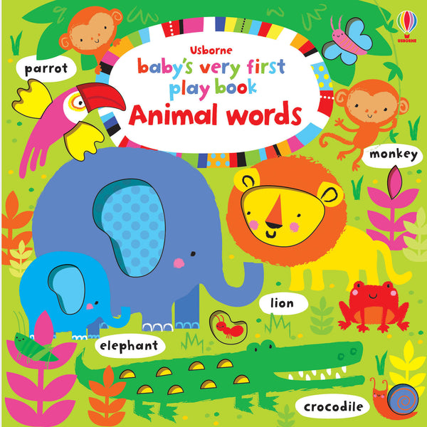 Baby's very first play book Animal words - BambiniJO