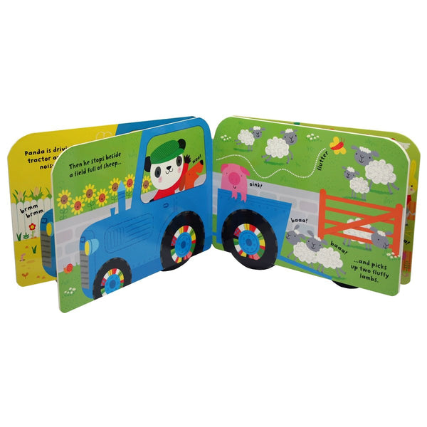 Baby's very first tractor book - BambiniJO