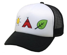 Load image into Gallery viewer, The Orenda Tribe Elements Trucker Hat ADULTS - BambiniJO