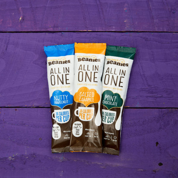 All in One (2 in 1) Variety Pack Instant Coffee 50g - Sugar & Gluten Free - BambiniJO