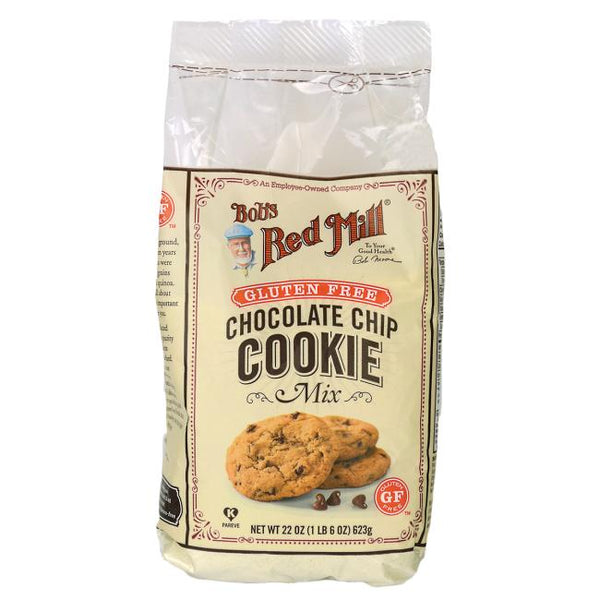 Chocolate Chip Cookie Mix 623g - GLUTEN FREE - BambiniJO