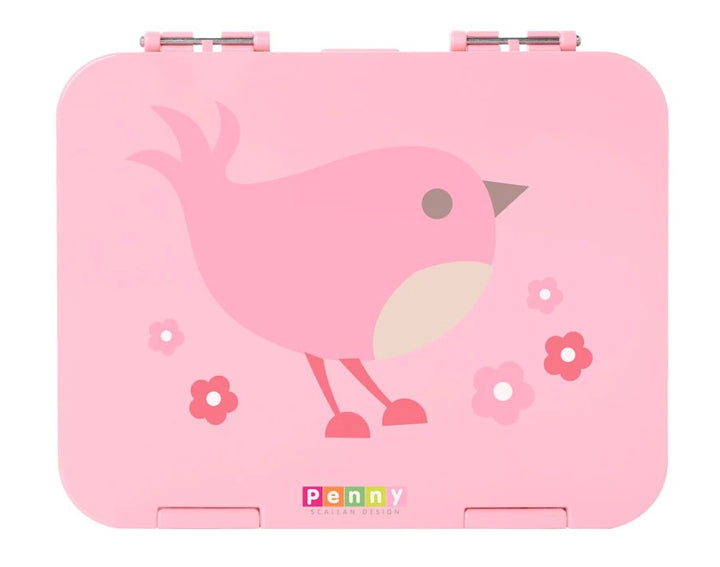 Large Bento 6 Compartments - Chirpy Bird - BambiniJO