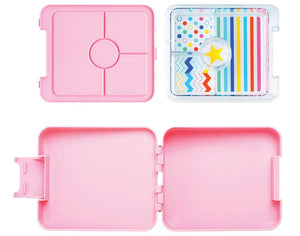 Mini Bento 4 Compartments - Chirpy Bird - BambiniJO