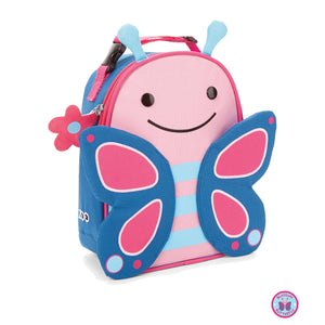 Zoo Lunchie Insulated Kids Lunch Bag Blossom - Butterfly - BambiniJO