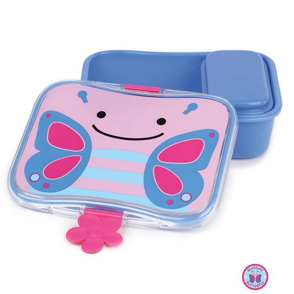 Zoo Lunch Kit Blossom - Butterfly - BambiniJO