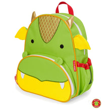 Load image into Gallery viewer, Zoo Backpack Dillon - Dragon - BambiniJO