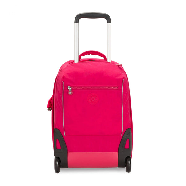 SARI Kids' Large Wheeled Backpack with Laptop Compartment True Pink