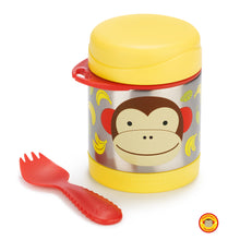 Load image into Gallery viewer, Zoo Insulated Food Jar Marshall - Monkey - BambiniJO