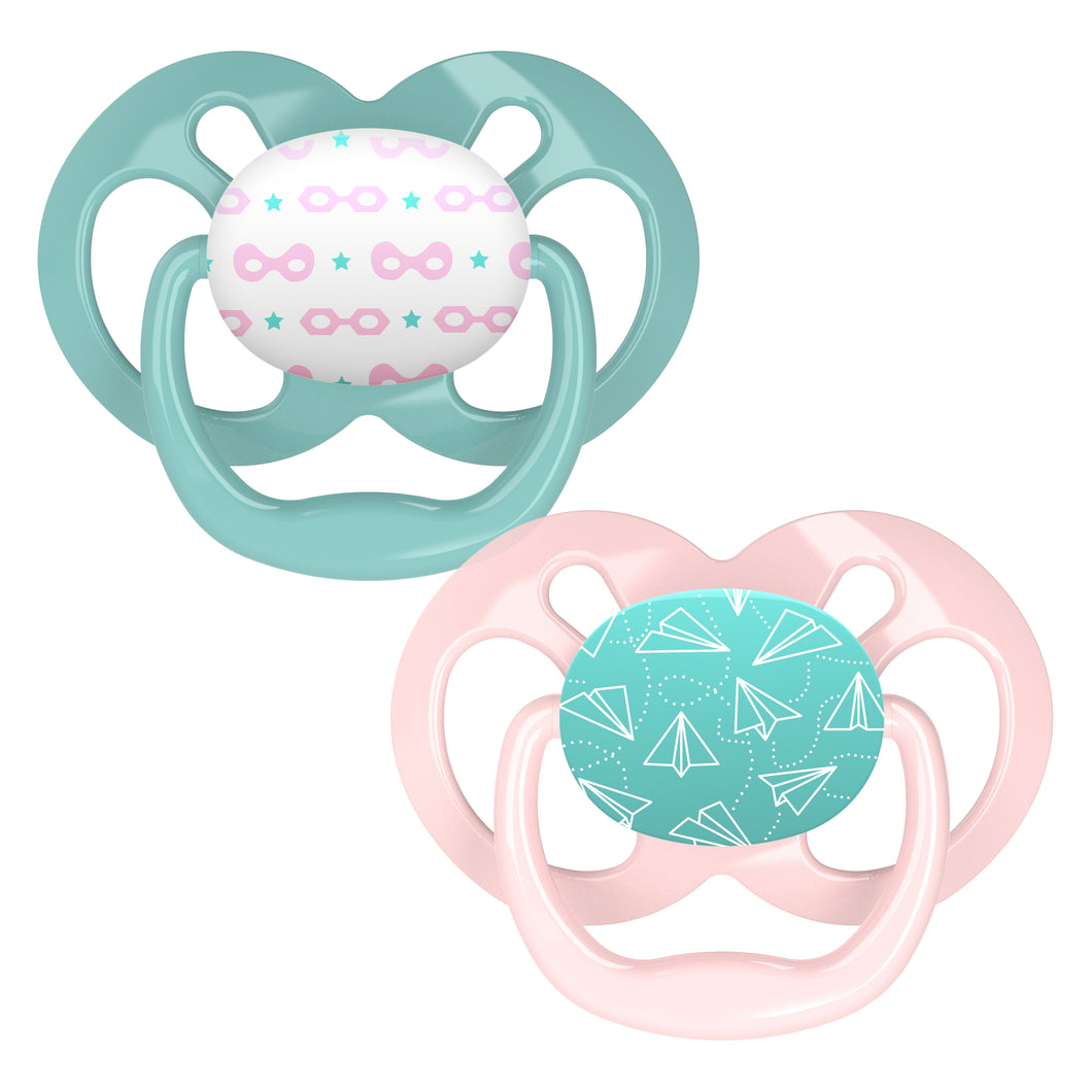 Dr. Brown's Advantage Pacifier Stage 2 - 2-Pack - BambiniJO