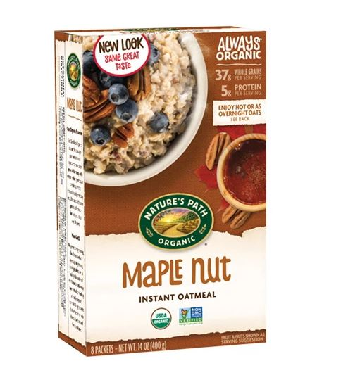 ORGANIC MAPLE NUT HOT OATMEAL (400G) - BambiniJO