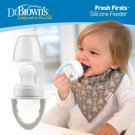 Dr. Brown's™ Fresh Firsts™ Silicone Feeder - BambiniJO
