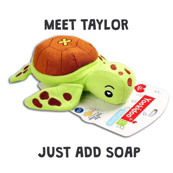 Yookidoo Wash Mitt - Taylor the Turtle - BambiniJO