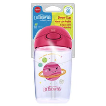 Load image into Gallery viewer, 350ml - Straw Cup - Pink Planets - BambiniJO