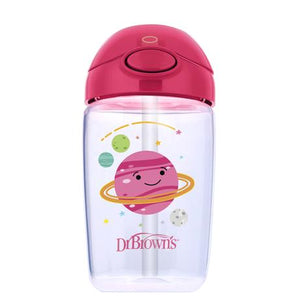 350ml - Straw Cup - Pink Planets - BambiniJO