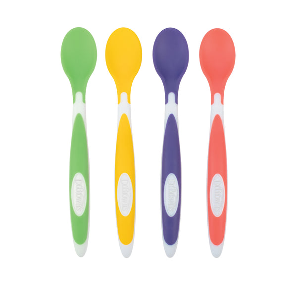 Dr Brown's Soft Tip Spoons 4-pack - BambiniJO