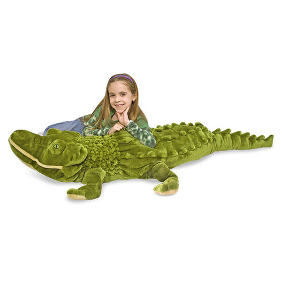 Melissa & Doug - PLUSH ALLIGATOR