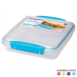 Sandwich Box To Go 450ml - Sistema - BambiniJO
