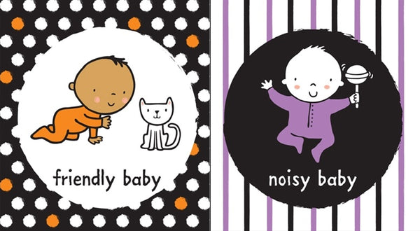 Baby's very first black and white books Babies - BambiniJO