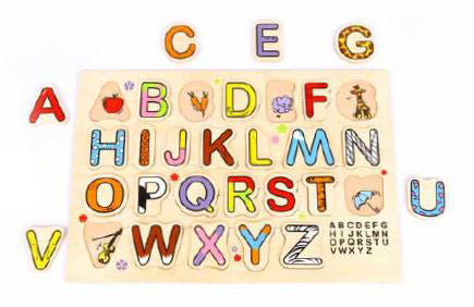 Edu Fun - What's Inside My Alphabet? - BambiniJO