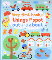 Very first book of things to spot out and about - BambiniJO