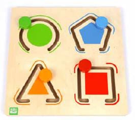 Edu Fun - Toddler Tracing Board L3 - BambiniJO