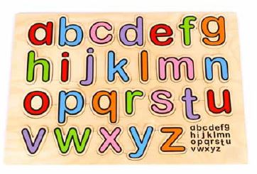 Edu Fun - Alphabet Board (Small Letters) - BambiniJO