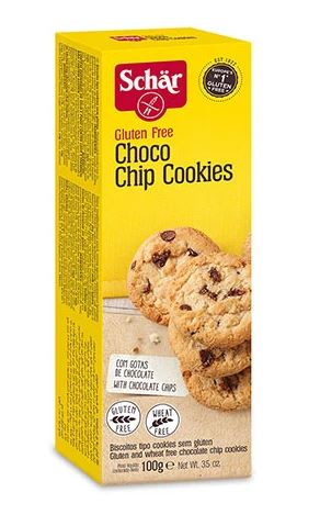 GLUTEN FREE CHOCOLATE CHIP COOKIES (100G) - BambiniJO