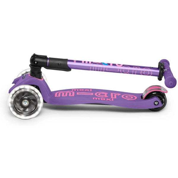 Micro Maxi Deluxe Foldable LED Scooter 5-12 Years