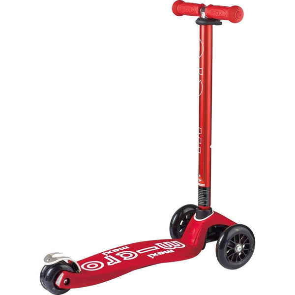 Micro Scooter Deluxe Maxi 3 Wheel Kick T Bar Handle 5-12 Years