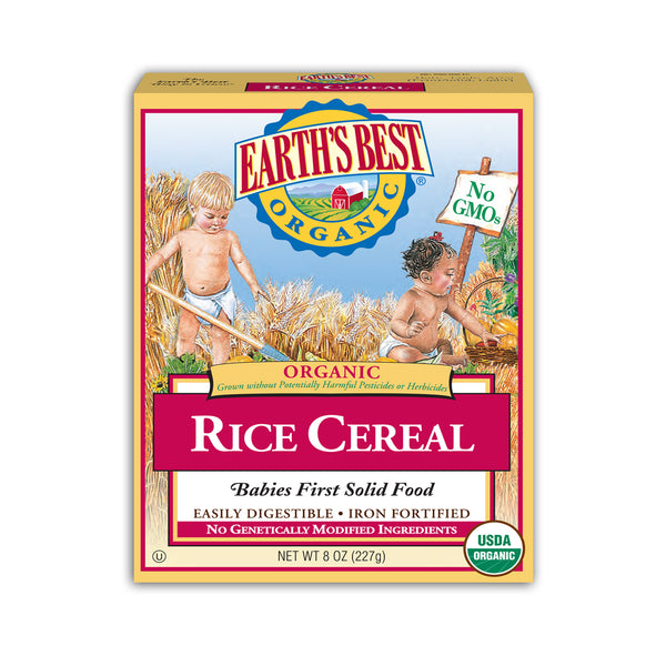 ORGANIC WHOLE GRAIN RICE CEREAL 4m+ (227G)
