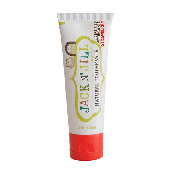 Jack n' Jill - Natural Toothpaste (50g) - Strawberry - BambiniJO