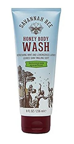HONEY BODY WASH LEMONGRASS SPEARMINT (236ML) - BambiniJO