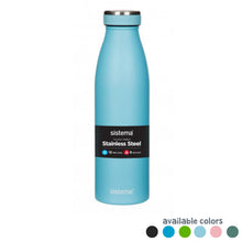 Load image into Gallery viewer, Stainless Steel Bottle 500ml - Sistema - BambiniJO