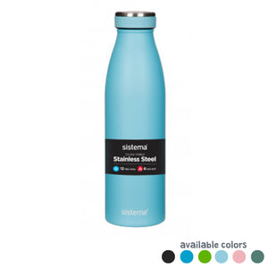 Stainless Steel Bottle 500ml - Sistema - BambiniJO