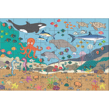 "Load image into Gallery viewer, iKids - Under the Sea Giant Floor Puzzle - 35 Piece ""61x91 cm"" - BambiniJO"