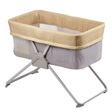 Load image into Gallery viewer, EVENFLO VILLI TRAVEL CRIB - YELLOW - BambiniJO