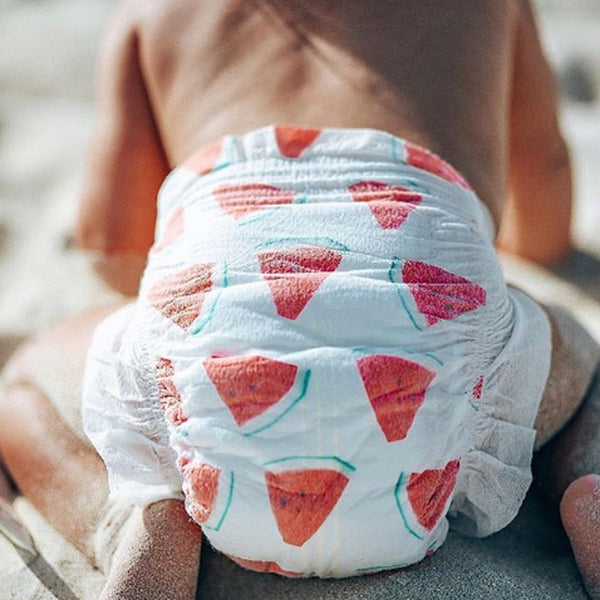 "Organic Plant Based Diapers ""3-6 kg"" - BambiniJO"