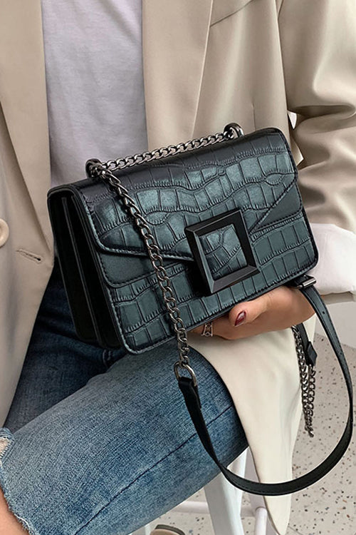 NO I. Black Cross Bag