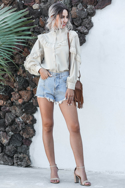 Staisy Ruffled Blouse - Fashion Movements Blouse