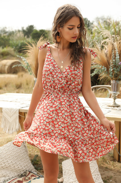 Emma Floral Summer Dress