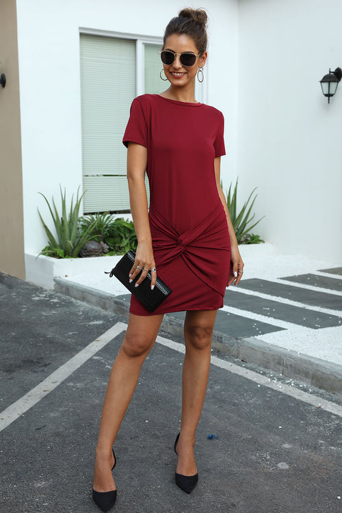 Esme Red Mini Dress - Fashion Movements dress