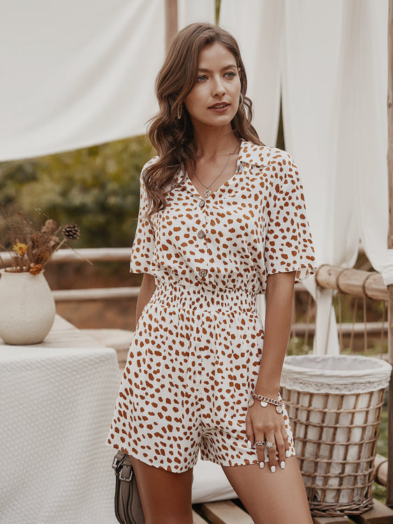 Breta White Polka Dot Jumpsuit - Fashion Movements jumpsuit