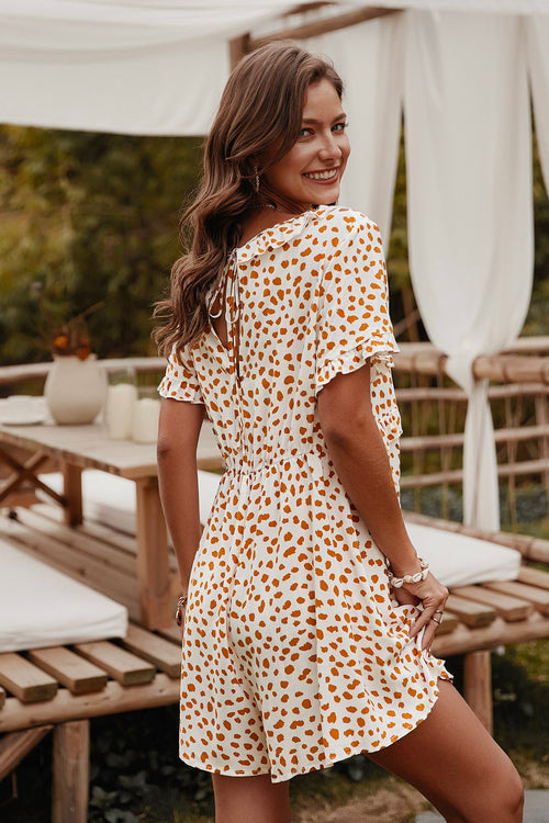 Rikki Ruffle Polka Dot Dress - Fashion Movements dress
