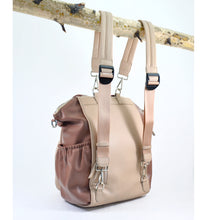 Load image into Gallery viewer, OLIVIA Diaper Bag (Latte)