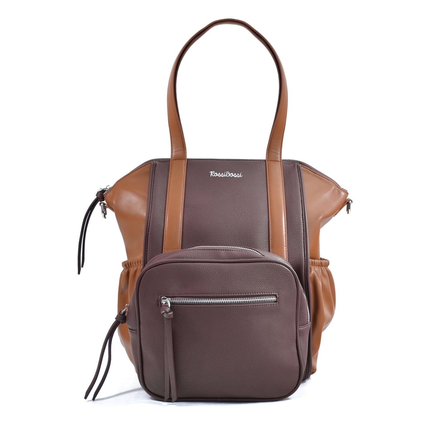 OLIVIA Diaper Bag (Chocolate)
