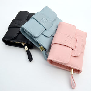 MONTREAL Trifold Wallet (Rose)