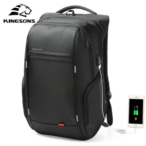 Men Fashion Backpack 15 Inch Laptop Backpack Men Waterproof Travel Outdoor Backpack 8007A GREY 15 Inches