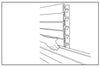 ACE OF SPACE SLAT - WALL STORAGE NZ - PLACE FIRST SLATWALL PANEL ON METAL WALL BRACKETS