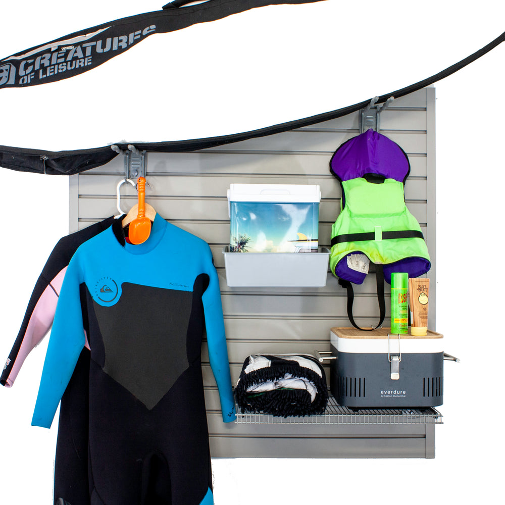 Stor-A-Wall - Beach & Surfboard Storage Kit - Ace of Space