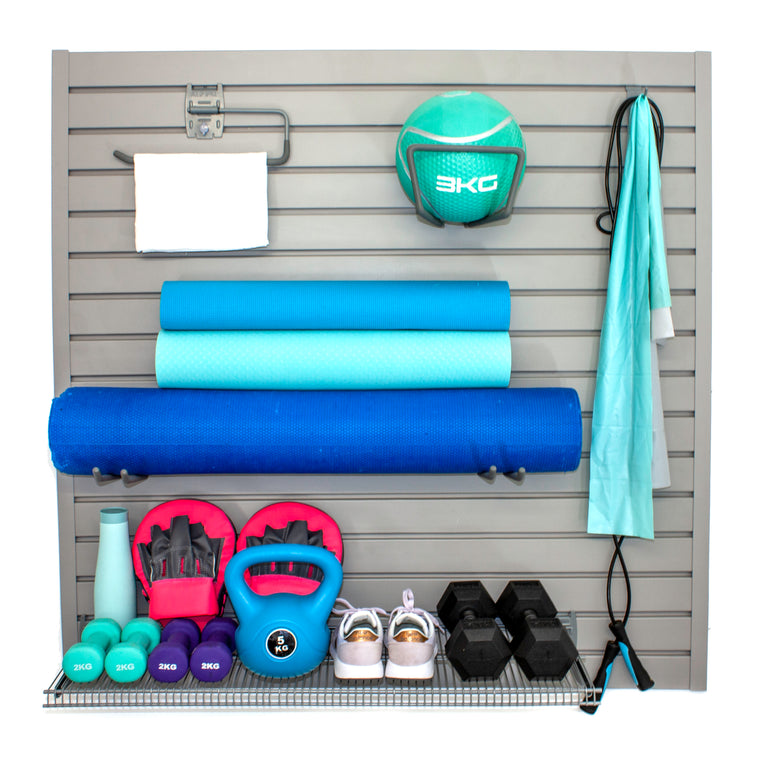 Stor-A-Wall - Fitness Equipment Storage Kit - Ace of Space